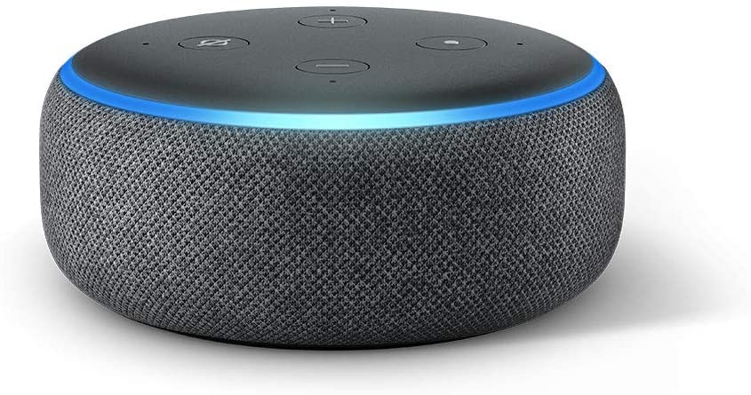 Amazon Echo Dot in charcoal Grey