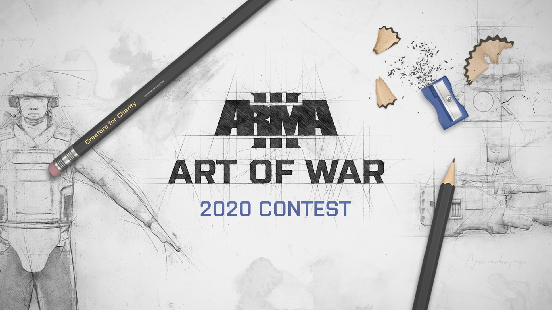 Arma 3 Art of War Contenst for Charity logo