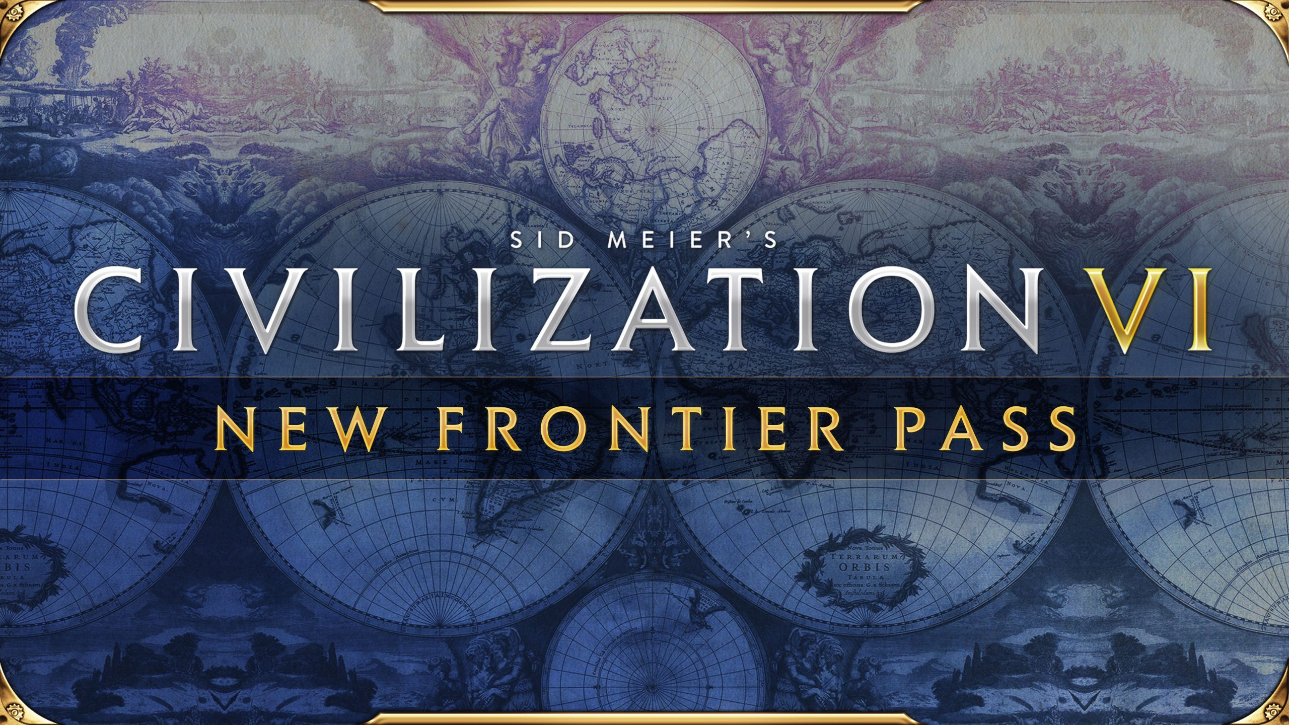 Sid Meier's Civilization VI New Frontier Pass logo