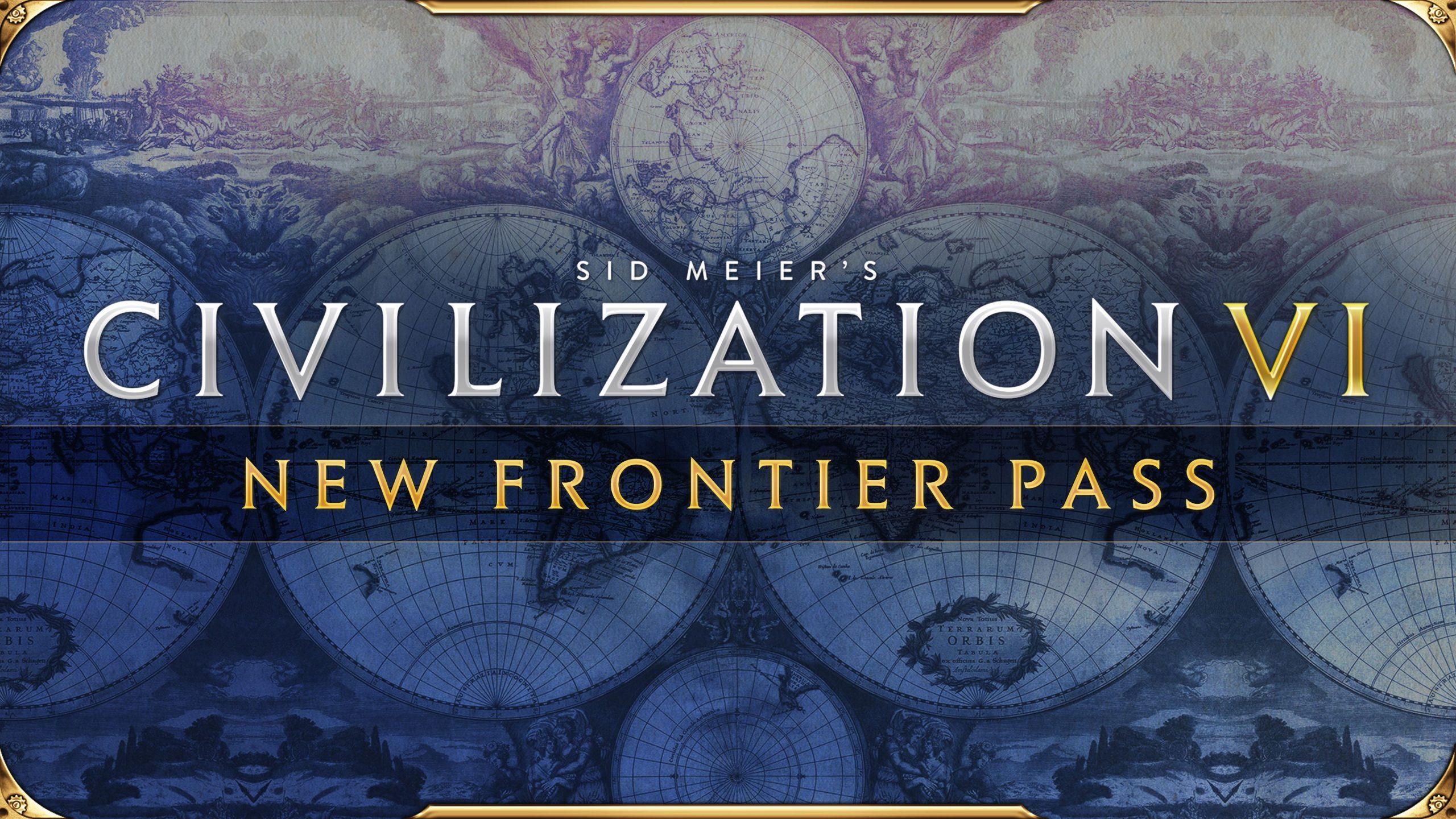 Sid Meier's Civilization VI New Frontier Pass logo