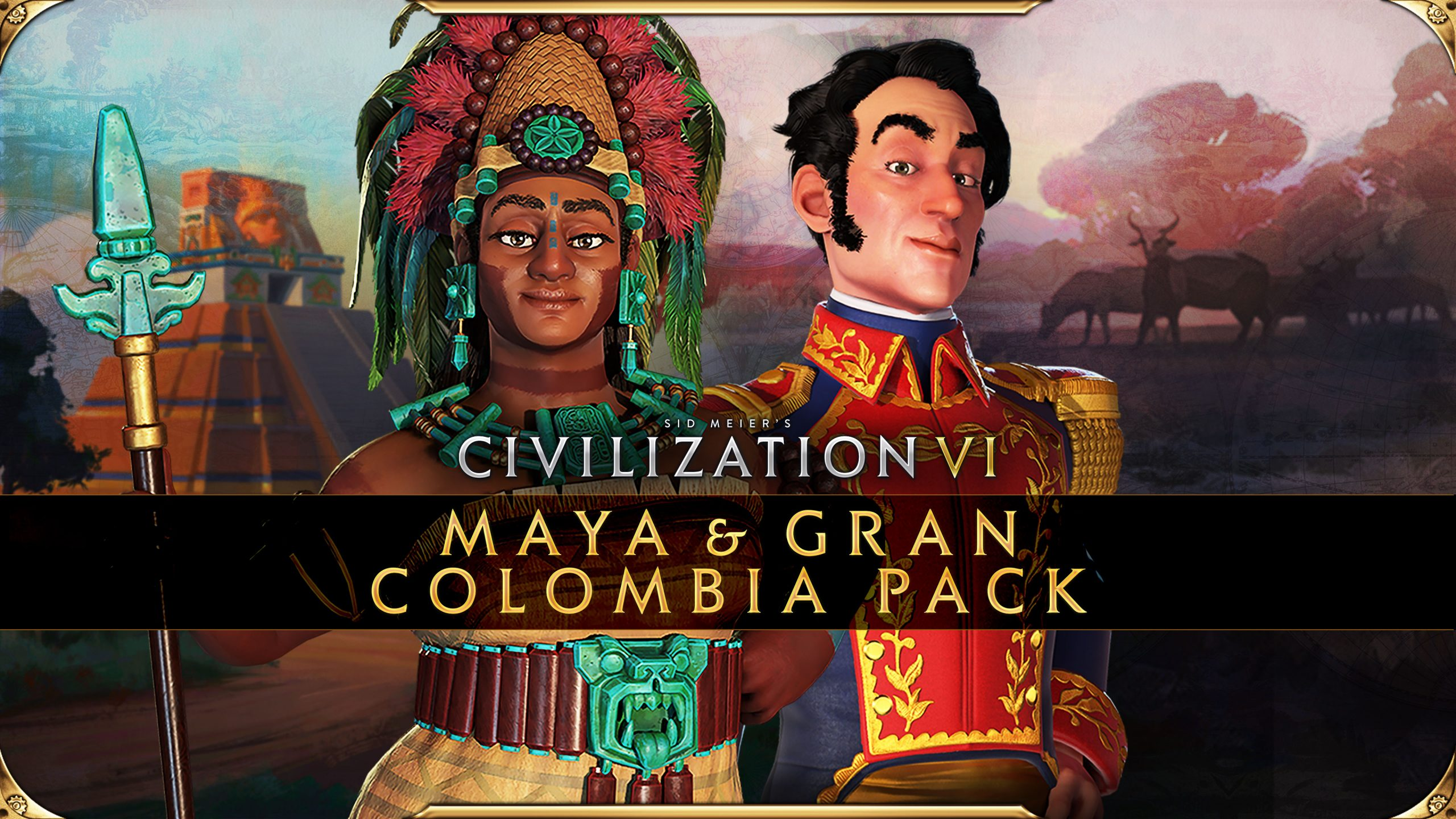 Civilization VI Maya & Gran Colombia Pack Logo