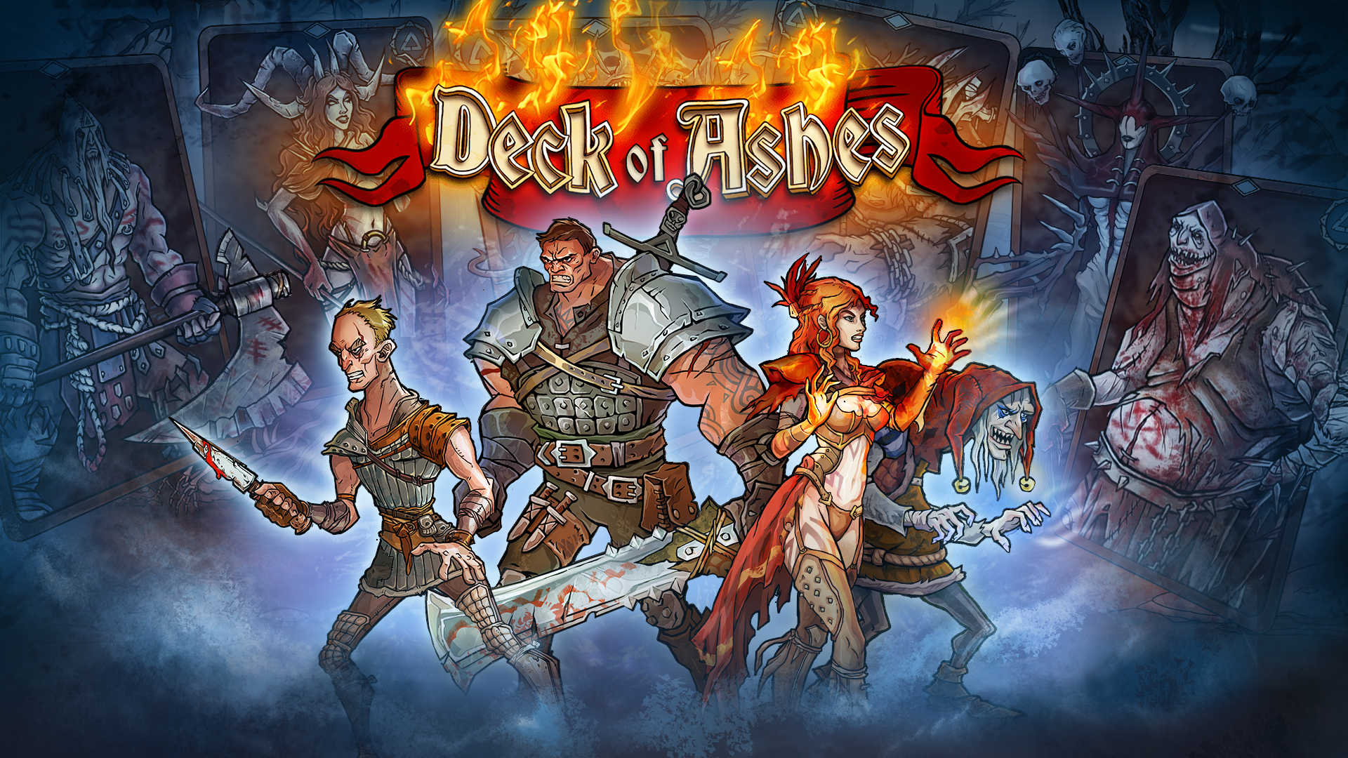 Deck of Ashes logo