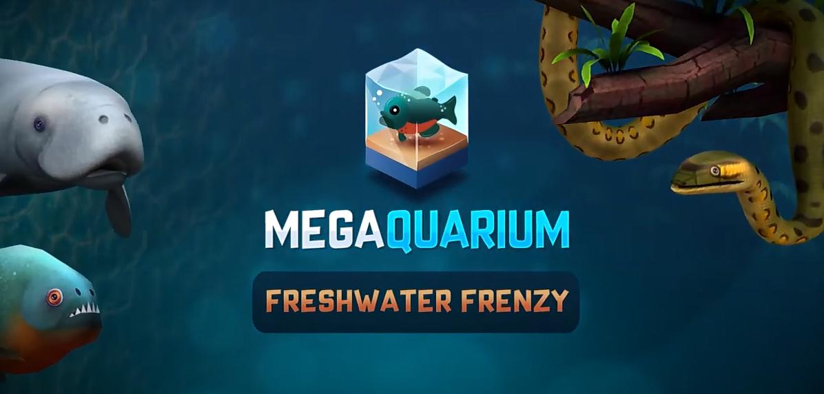 Megaquarium Freshwater Frenzy logo