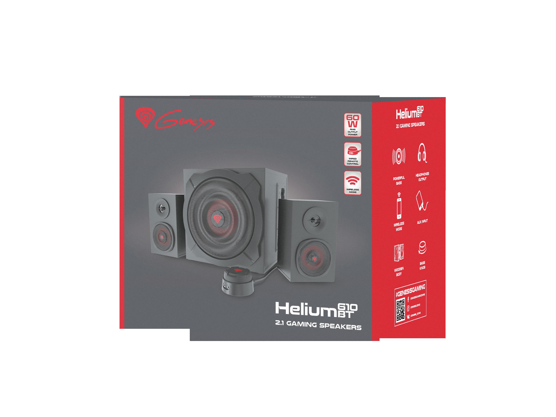 Helium 610 BT Speakers Boxed