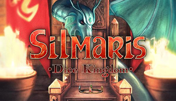 Silmaris: Dice Kingdom logo