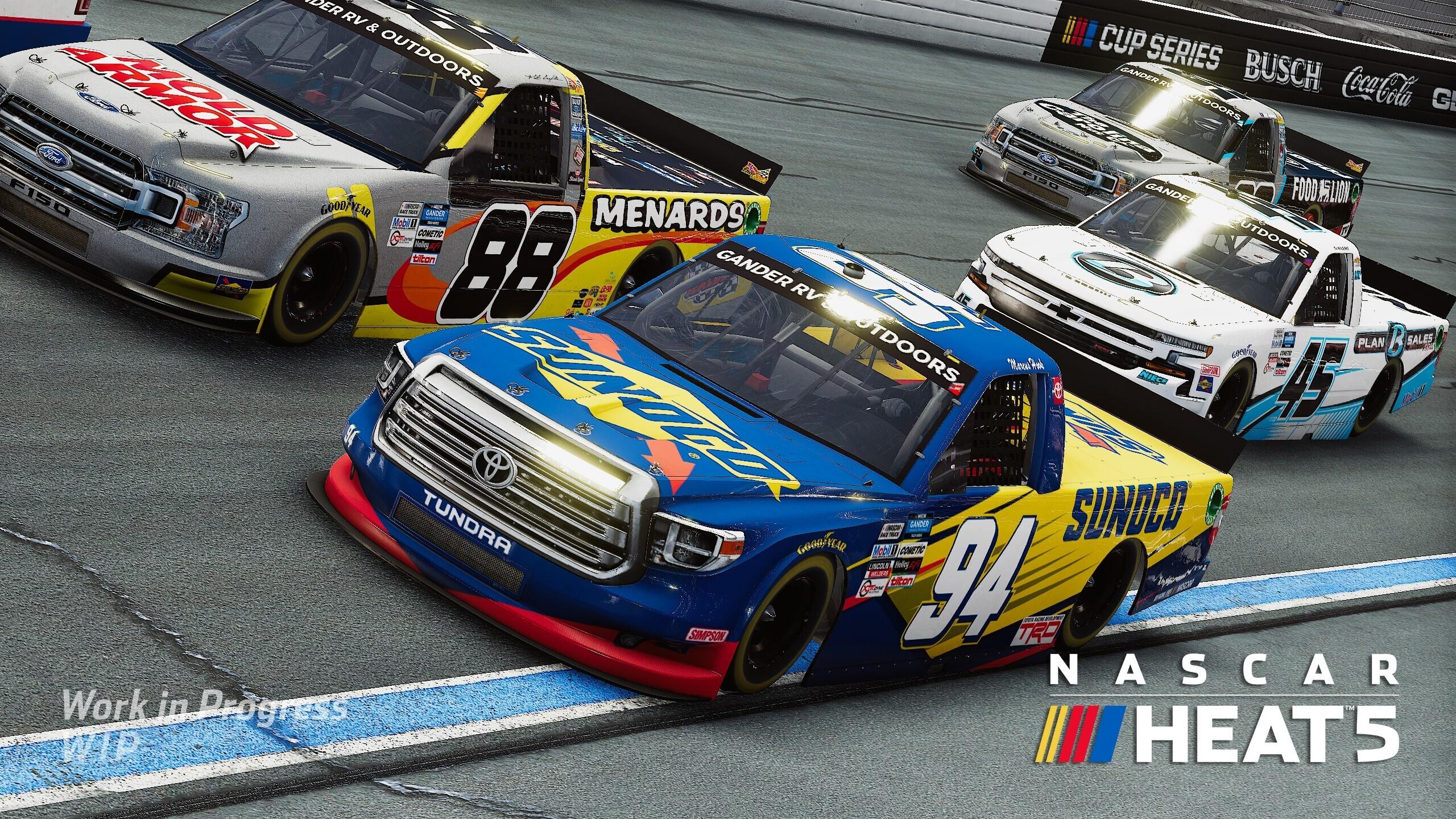NASCAR Heat 5 Artwork