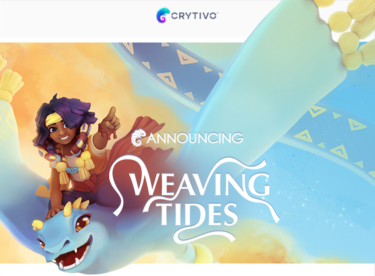 Weaving Tides logo and artwork
