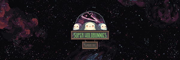 Super Holobunnies Logo