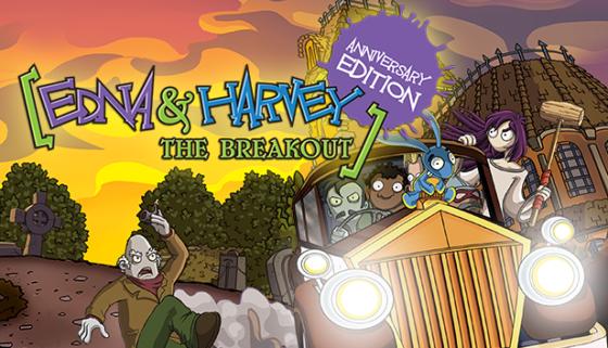 Edna & Harvey: The Breakout Logo