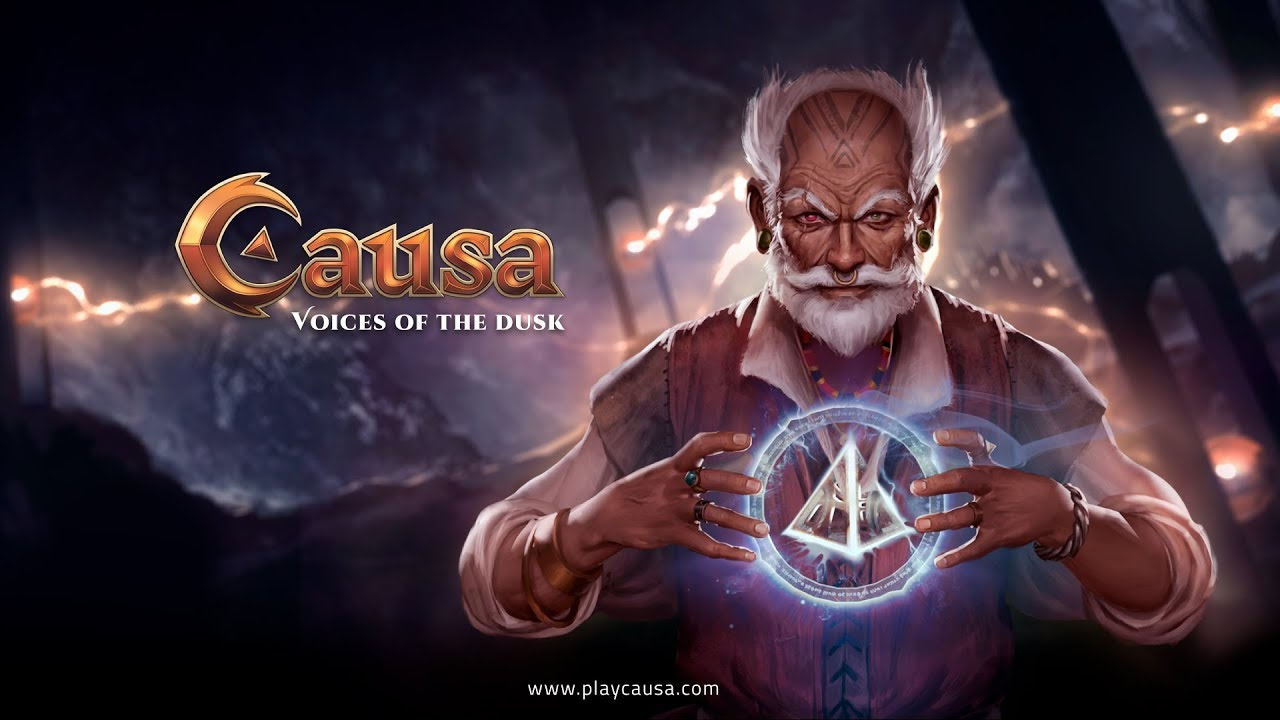 Causa, Voices of the Dusk, Early Access Launch Logo