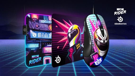 Neon Rider Artwork