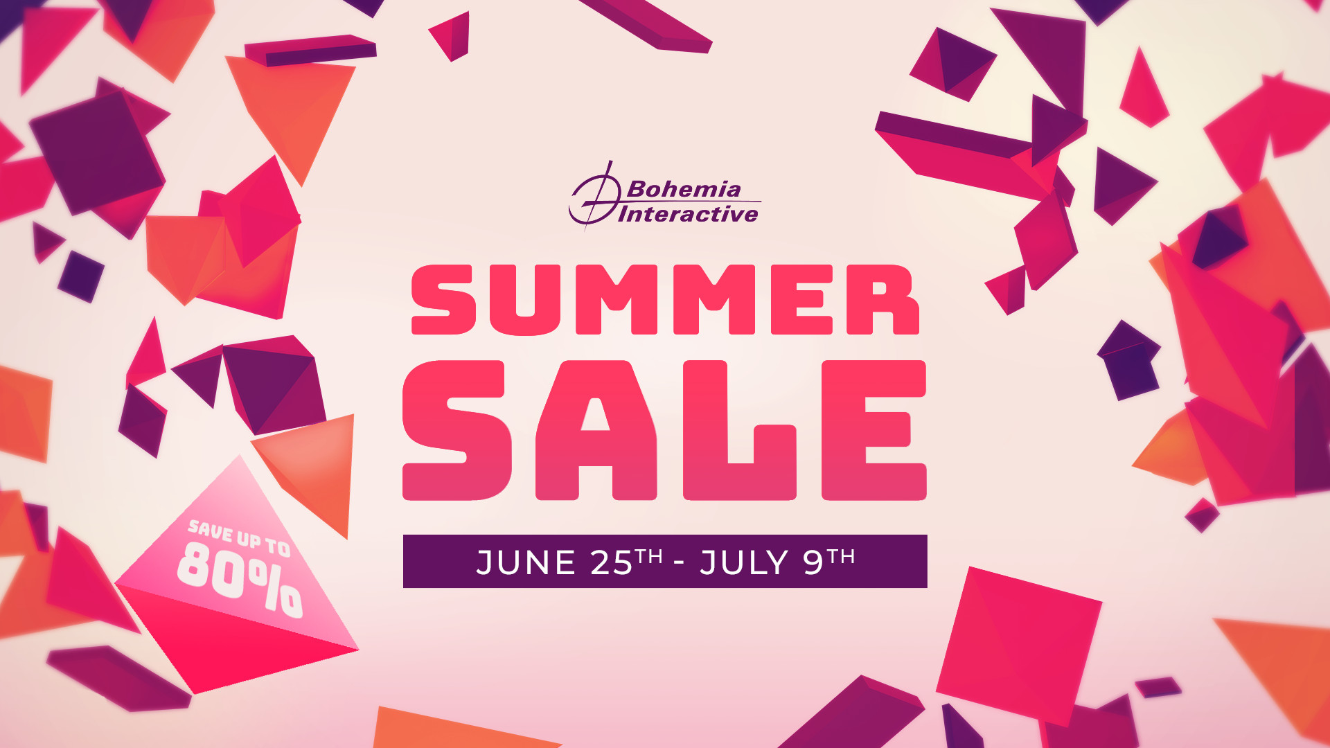 Bohemia Interactive Steam Summer Sale Dates
