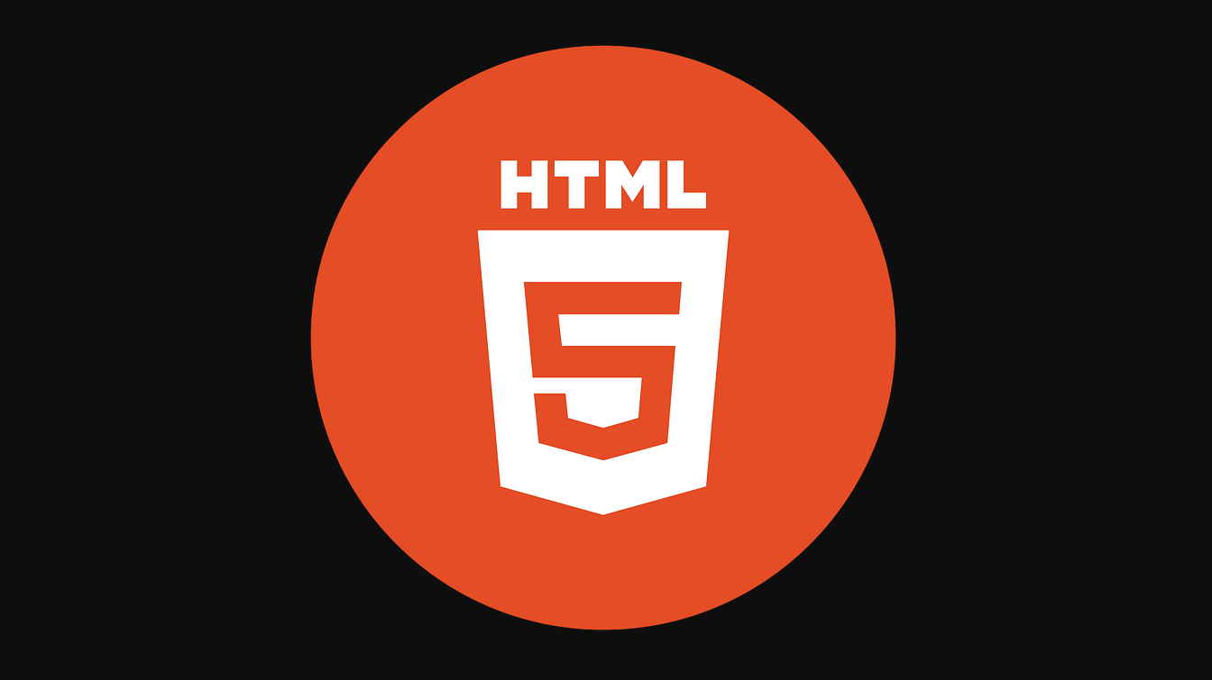 HTML5 in orange logo