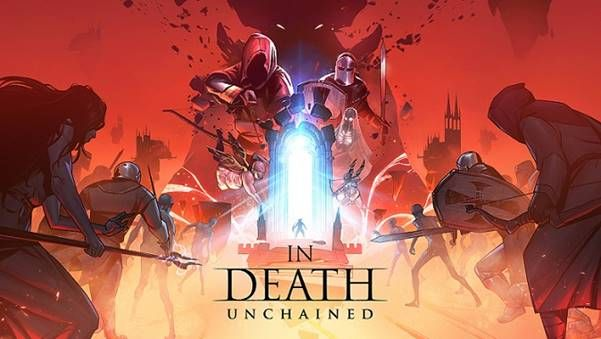 In Death Unchained logo