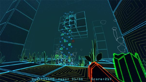 Paradox Vector gameplay screenshot