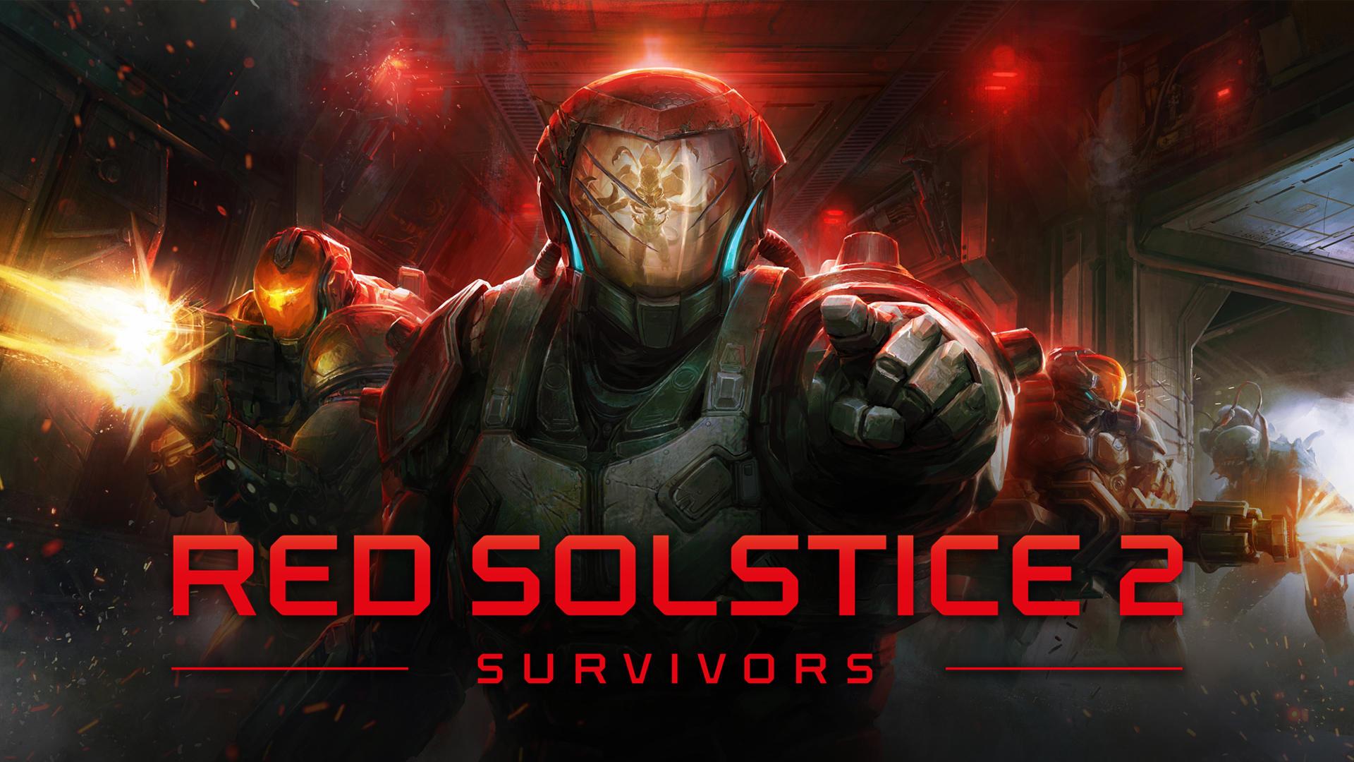 Red Solstice 2: Survivors logo and artwork