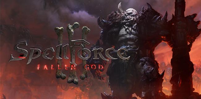 SpellForce 3 - Fallen God logo