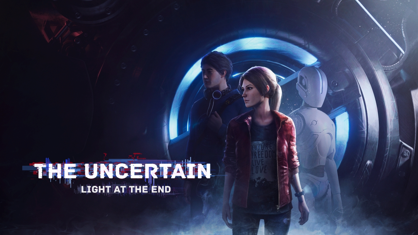 he Uncertain: Light at the End Logo