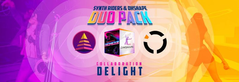 Synth Riders and OhShape are available together in a Duo Pack