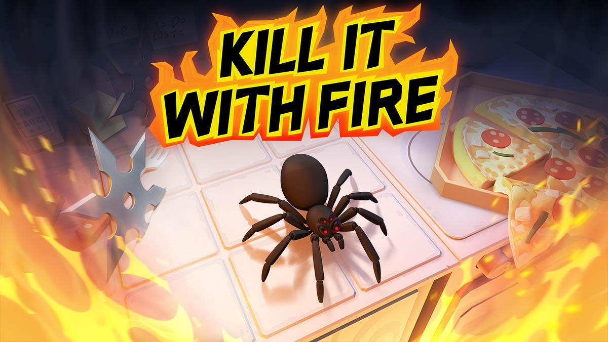 Kill it with fire logo