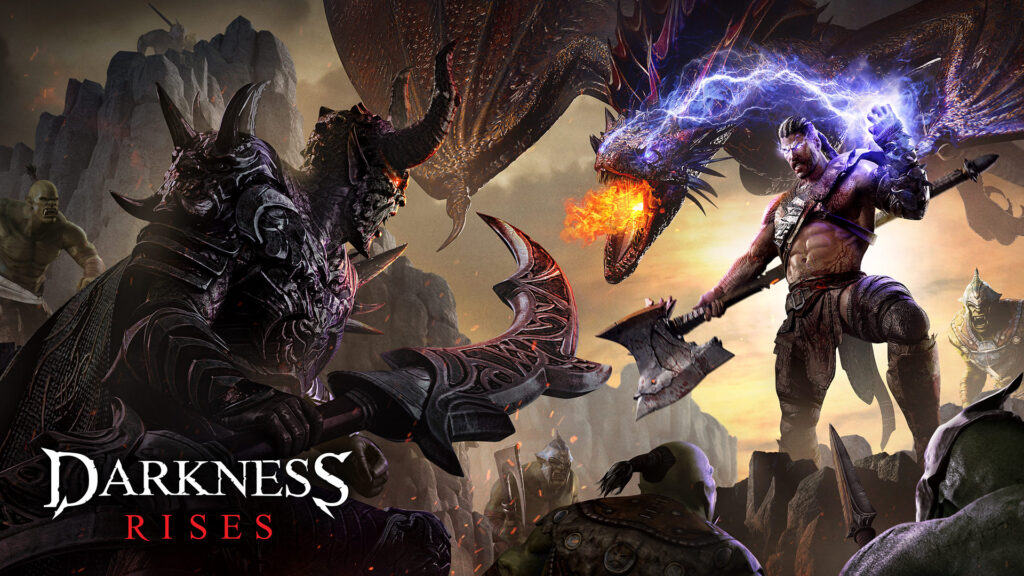 Darkness Rises logo