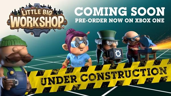 Little Big Workshop pre-order logo