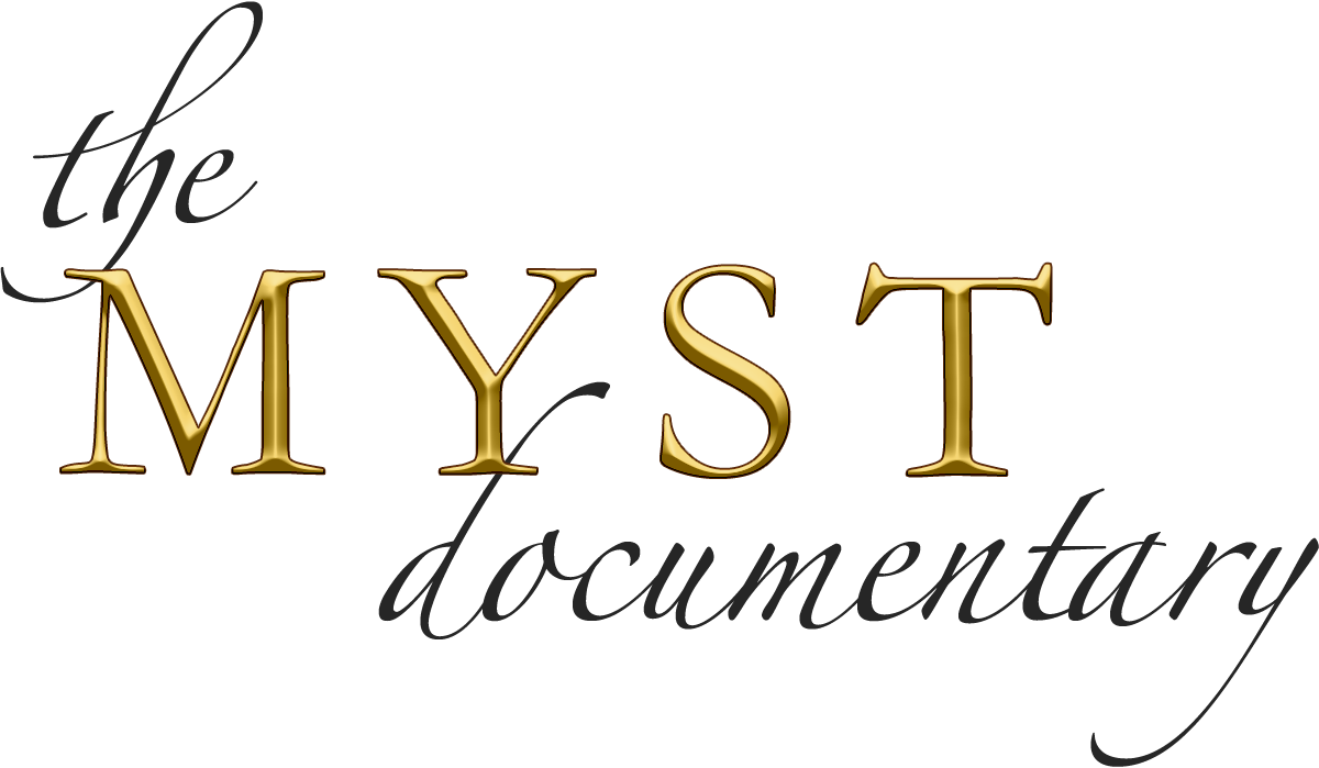 Myst Documentary Logo Black