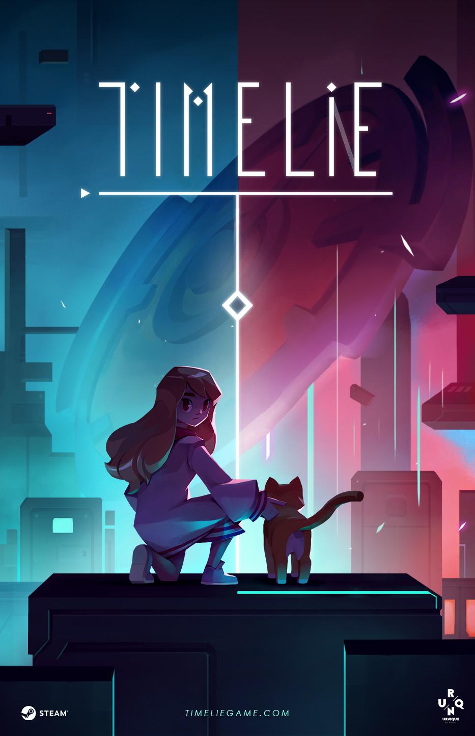 Timelie logo and artwork