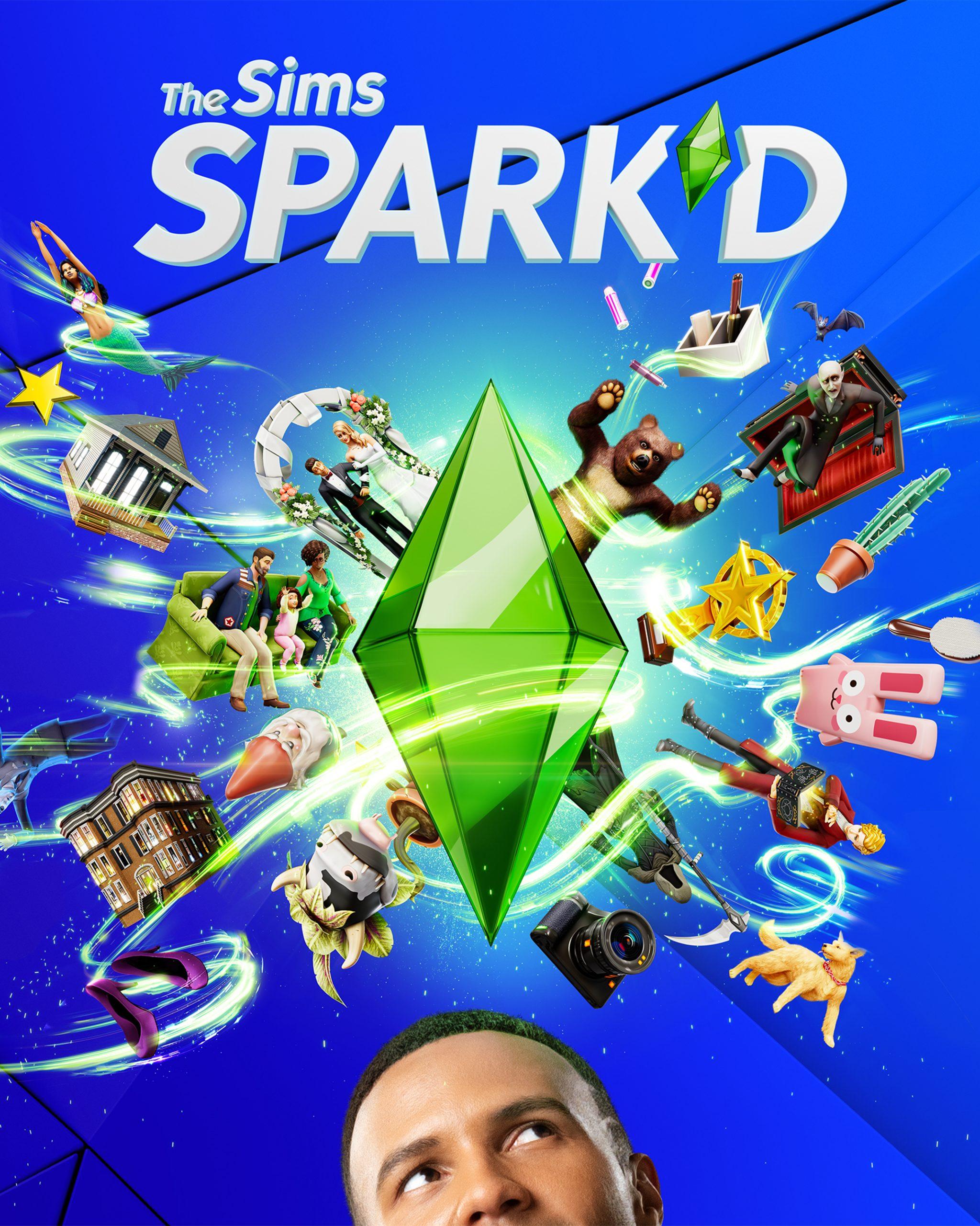 The Sims Spark'd Key Art