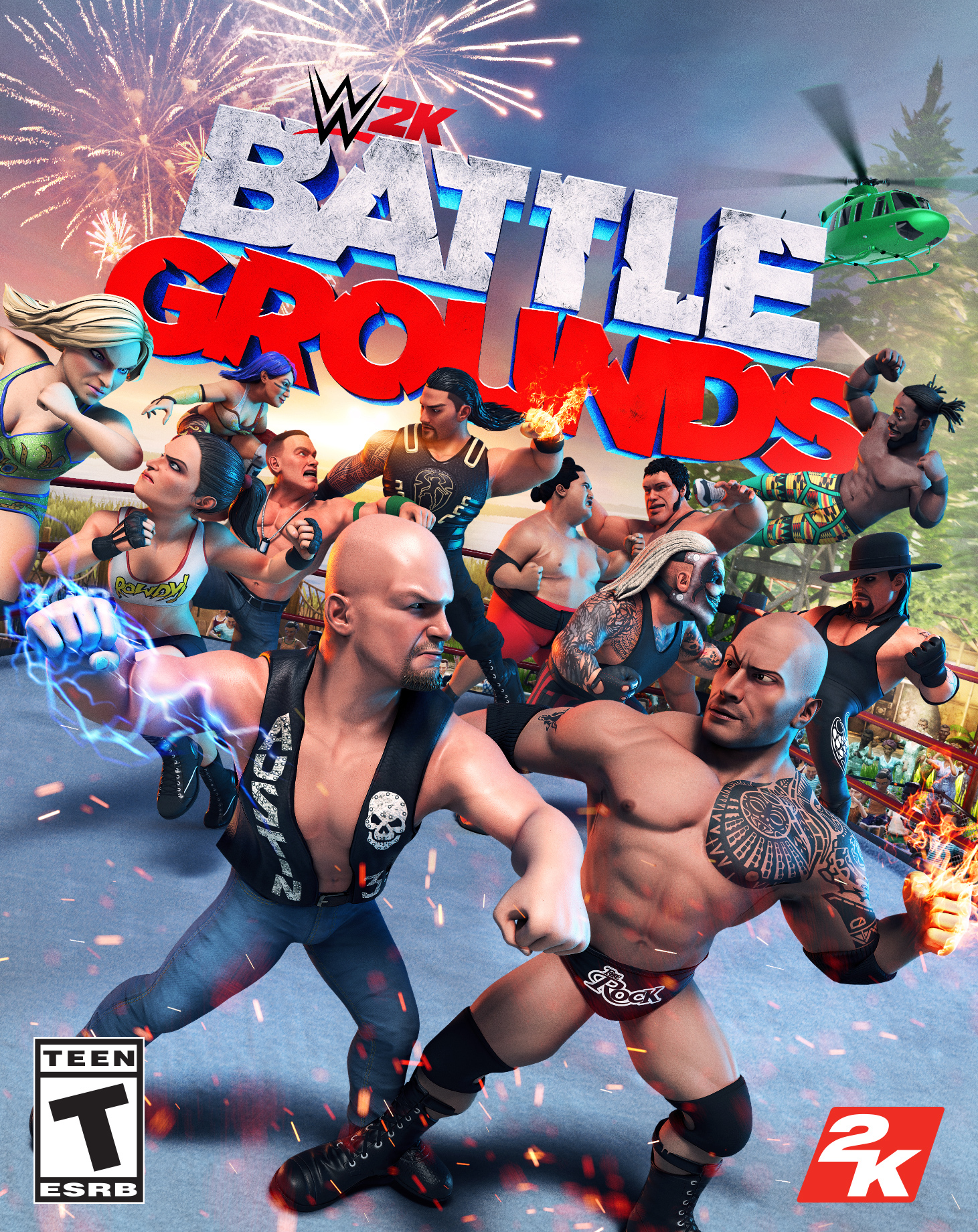 WWE Battlegrounds Logo