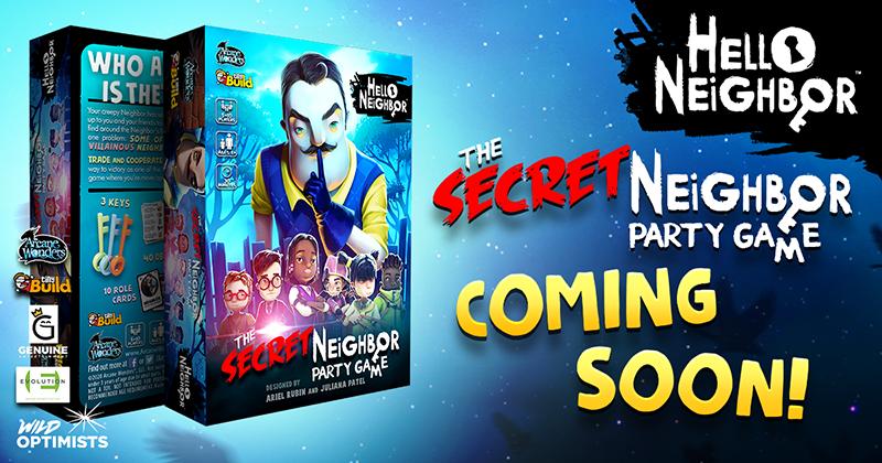 Hello Neighbor: The Secret Neighbor Party Game Coming Soon