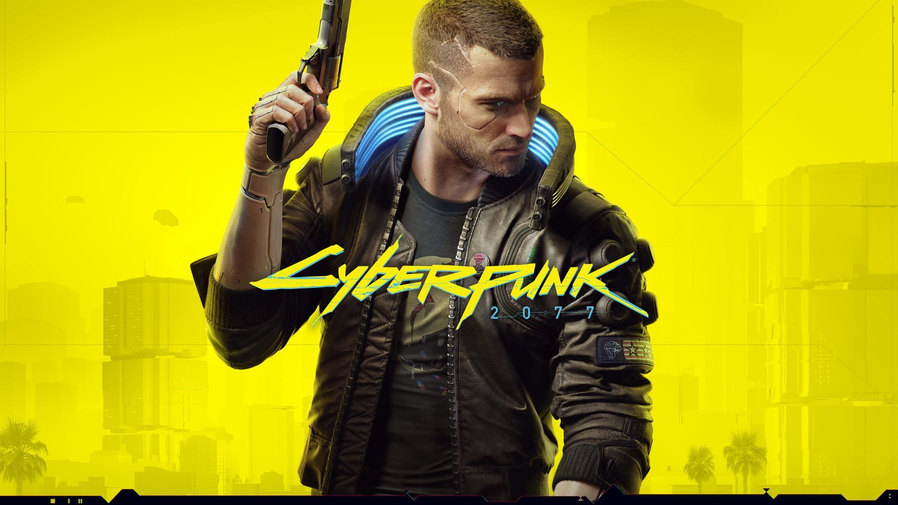 Cyberpunk 2077 logo and artwork