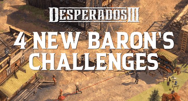 Desperados III update