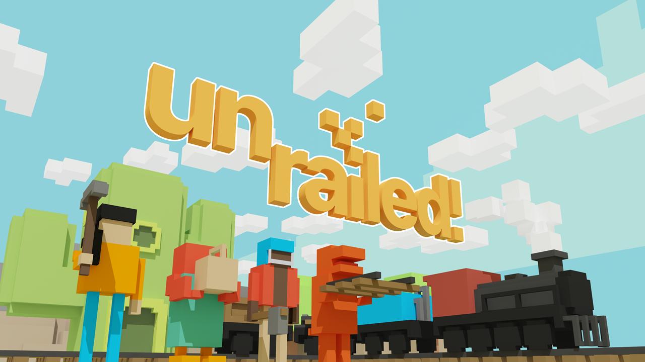 Unrailed Logo