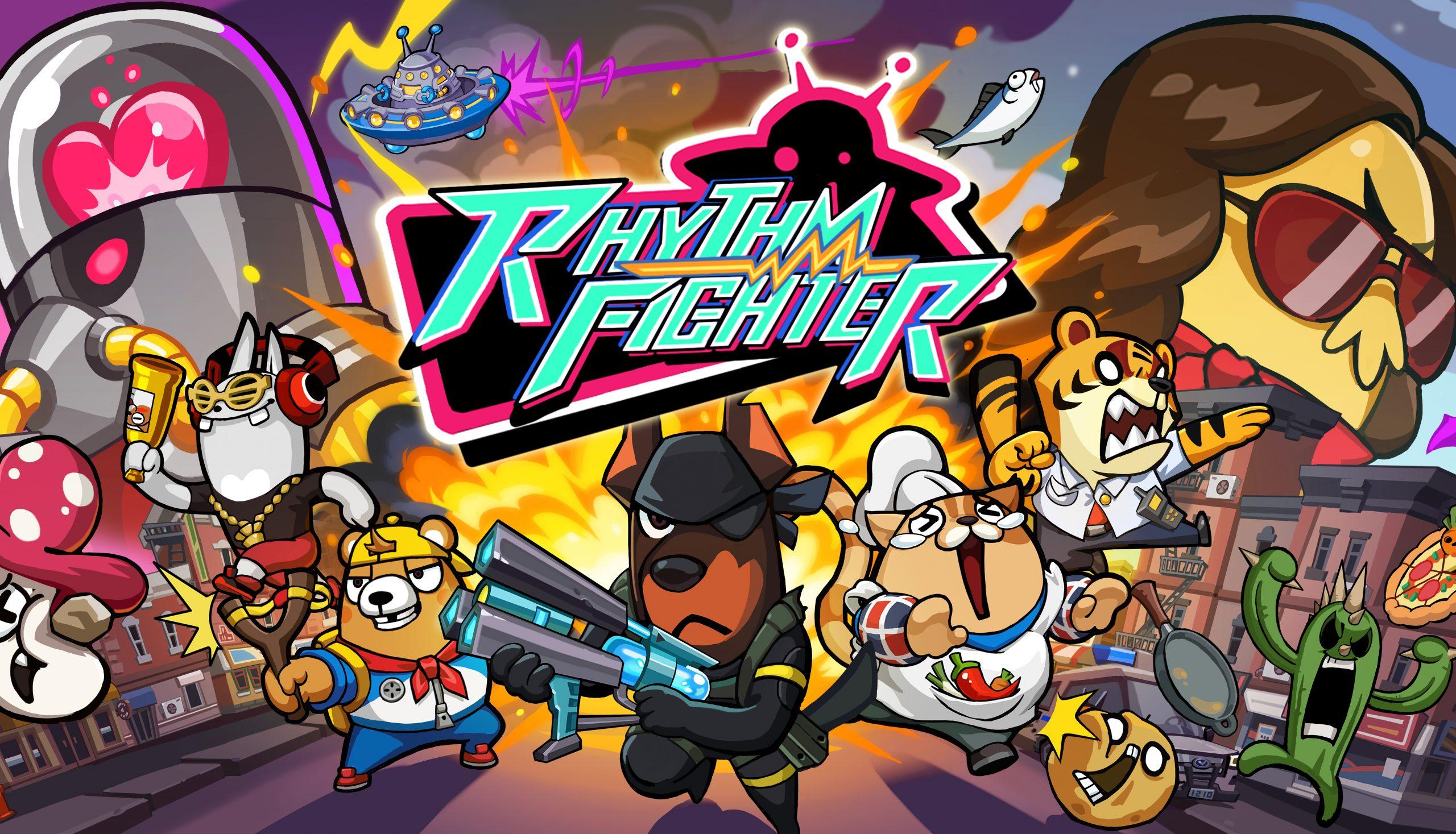 Rhythm Fighter logo