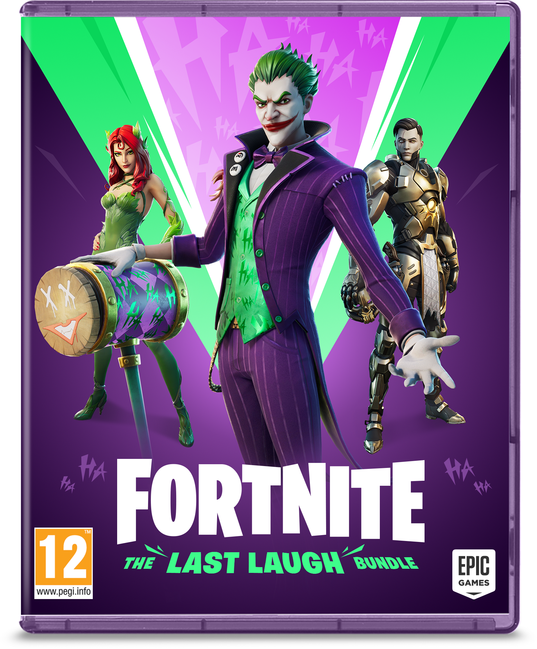 Fortnite: The Last Laugh Bundle promo pack