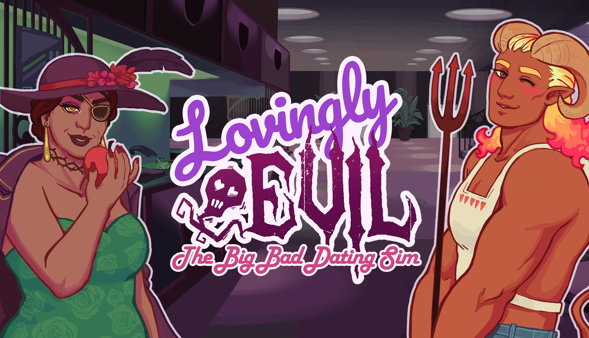 Lovingly Evil logo