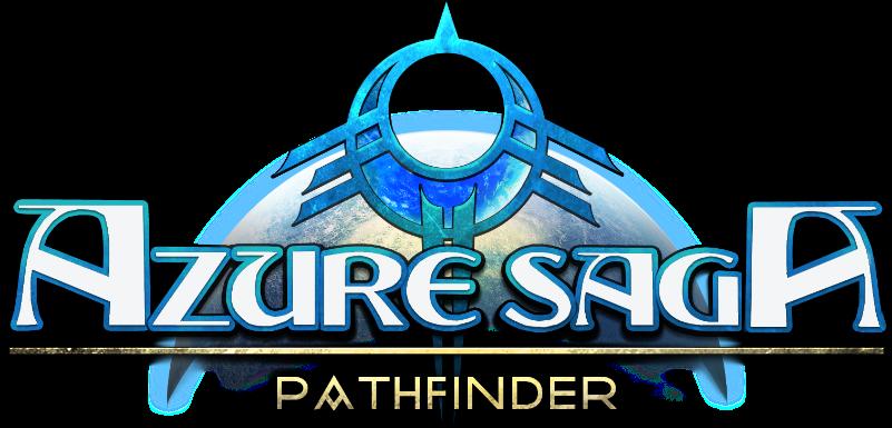 Azure Saga: Pathfinder logo