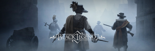 Black Legend logo and artwork