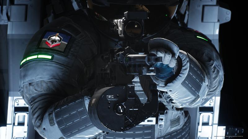 Boundary Screenshot staring down a barrel