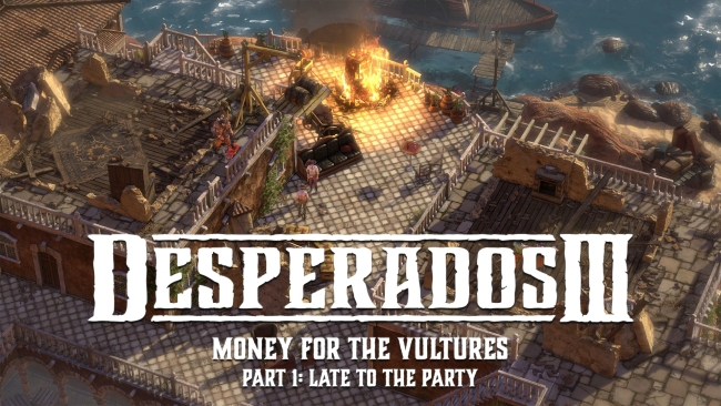 Desperados III A feast for the vultures