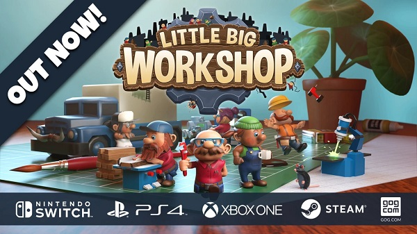 Little Big Workshop Out Now
