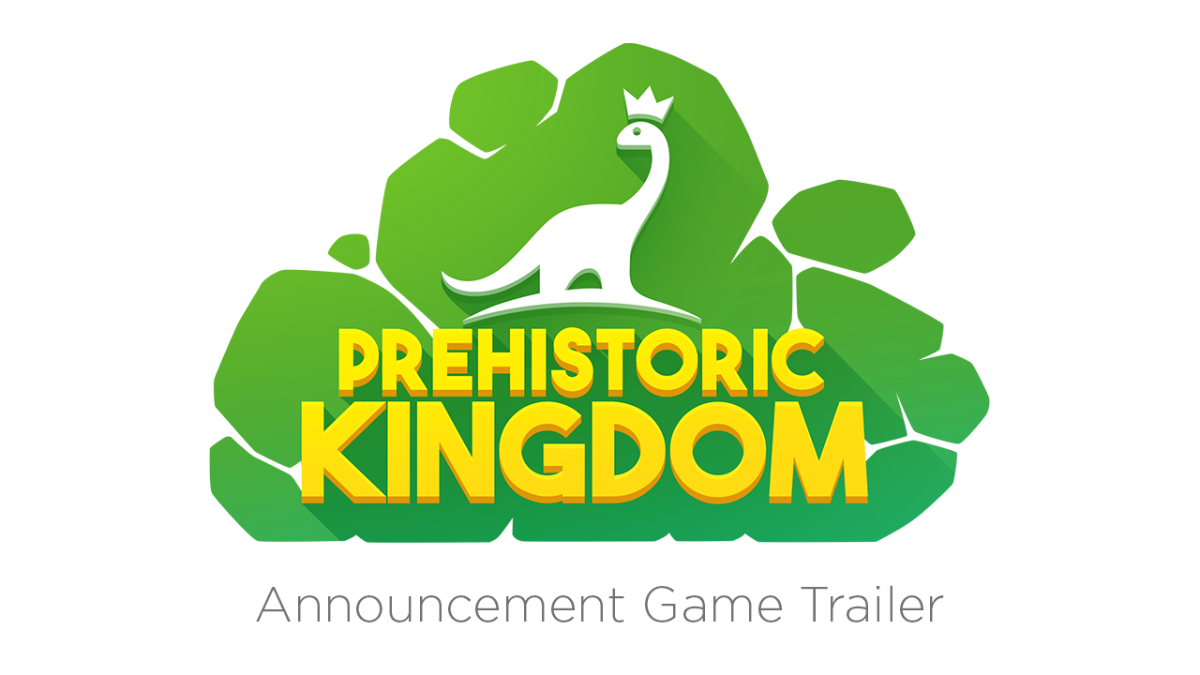 Prehistoric Kingdom game trailer logo