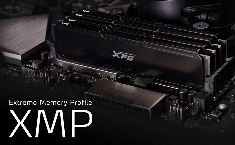 XPG GAMMIX D20 DDR4 in a PC