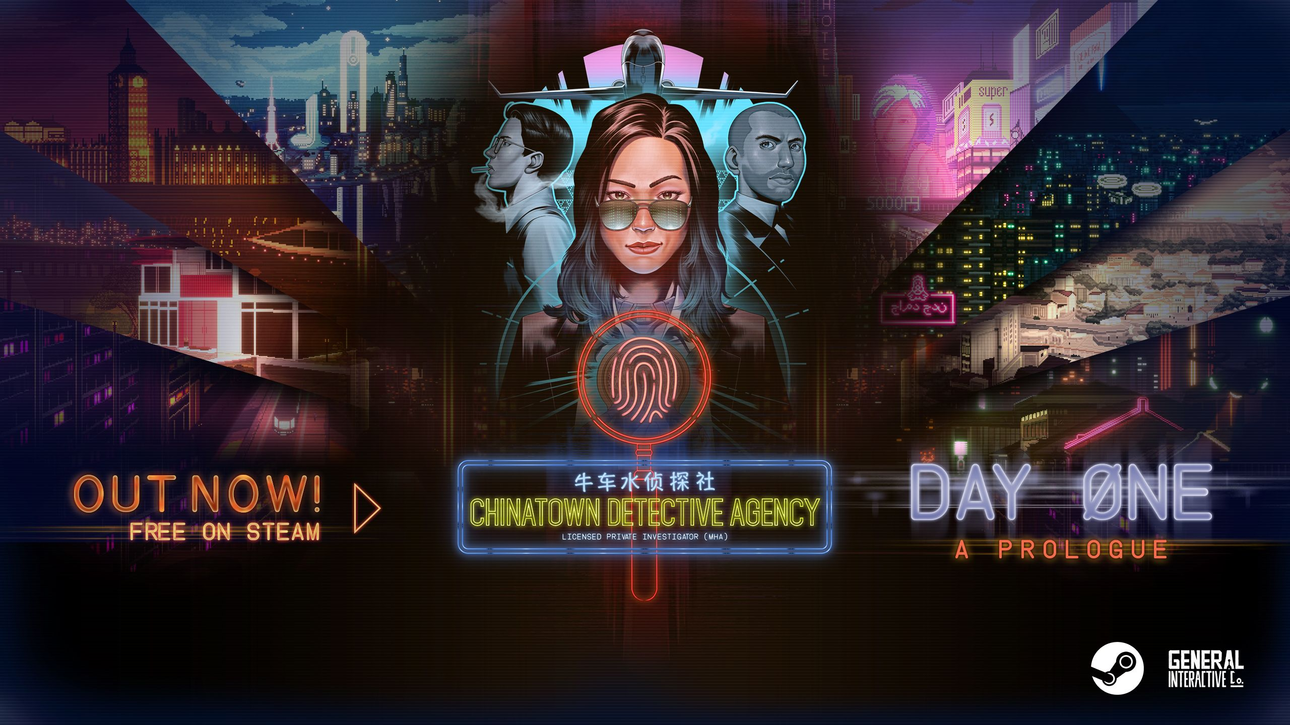Chinatown Detective Agency: Day One logo