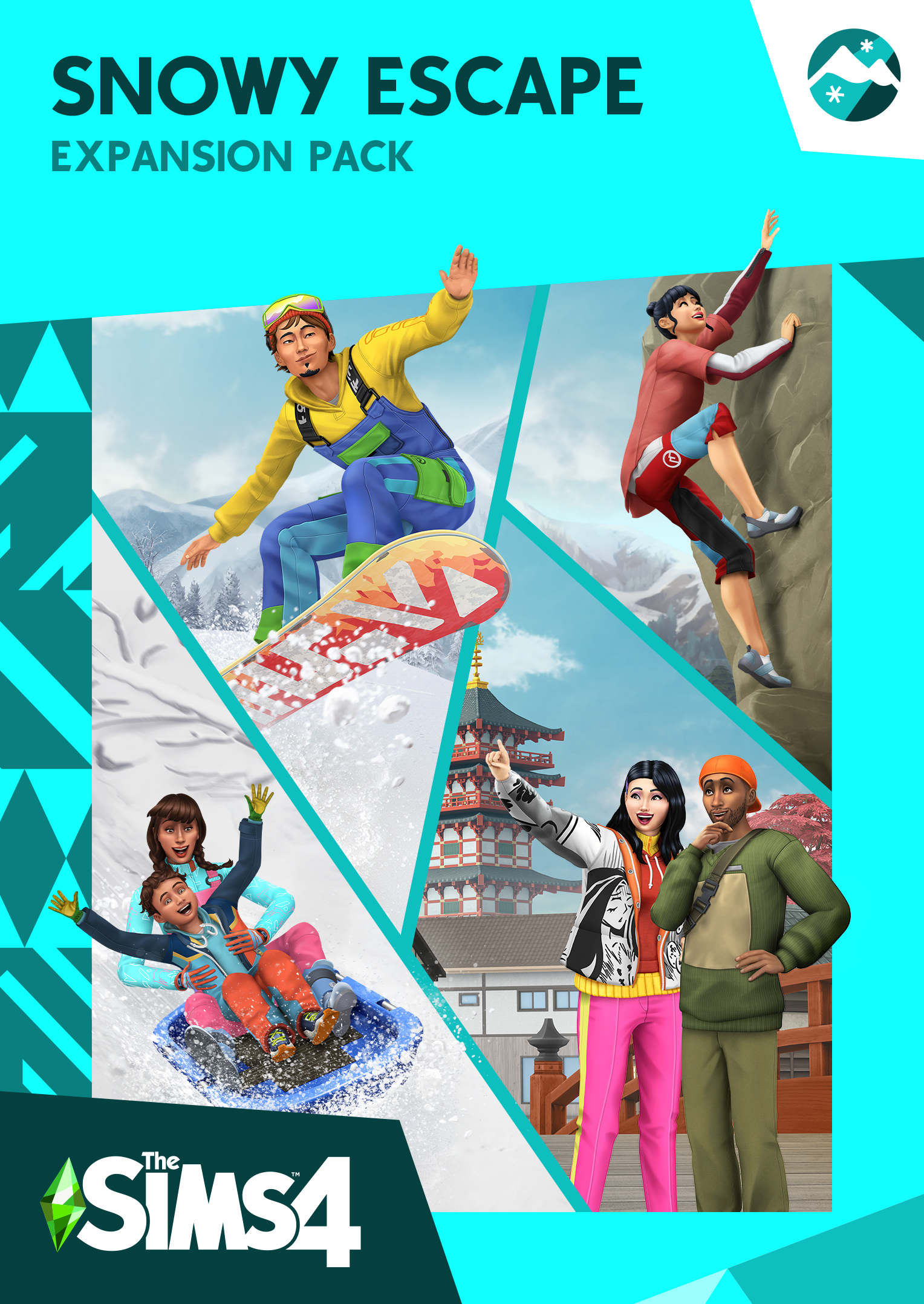 The Sims 4 Snowy Escape Header