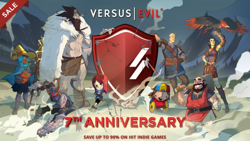 Versus Evil 7th Anniversary Steam Sale artwork