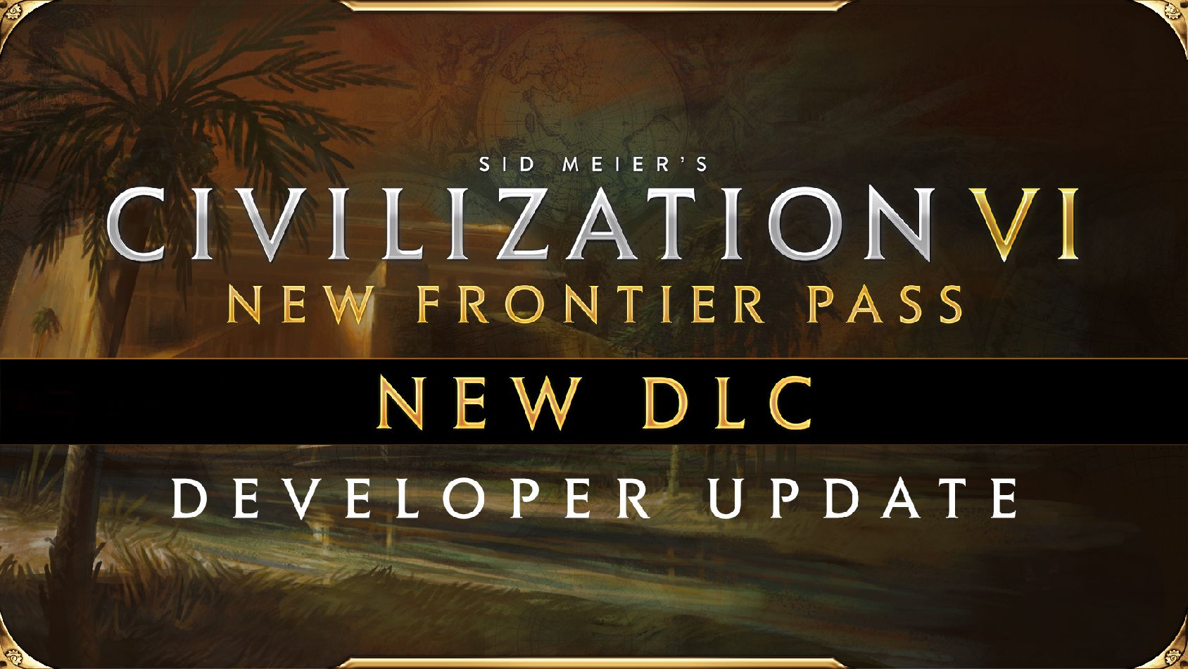 Civilization VI - New Frontier Pass - DLC Hammurabi of Babylon Pack 4 Dev Update logo