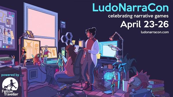 LudoNarraCon April 2021 dates