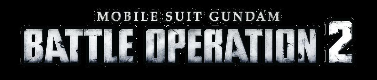Mobile Suit Gundam Battle Operation 2 logo